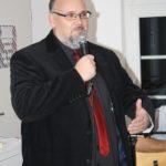Veit Claesberg moderiert den Abend